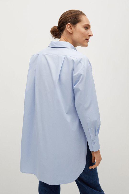 niebieski Mango - Koszula bawełniana James