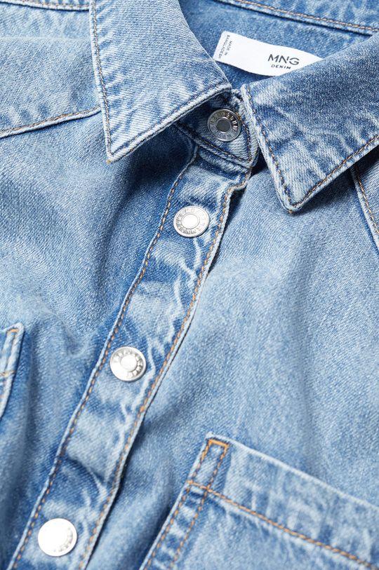 Mango - Koszula jeansowa Sira niebieski