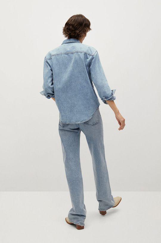 niebieski Mango - Koszula jeansowa Sira