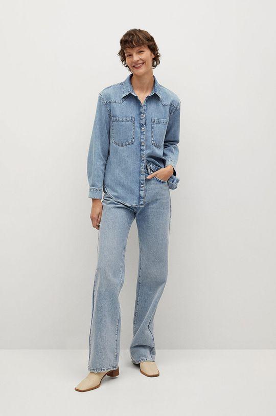 Mango - Koszula jeansowa Sira