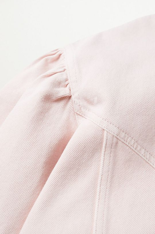 Mango - Koszula jeansowa Caramel różowy