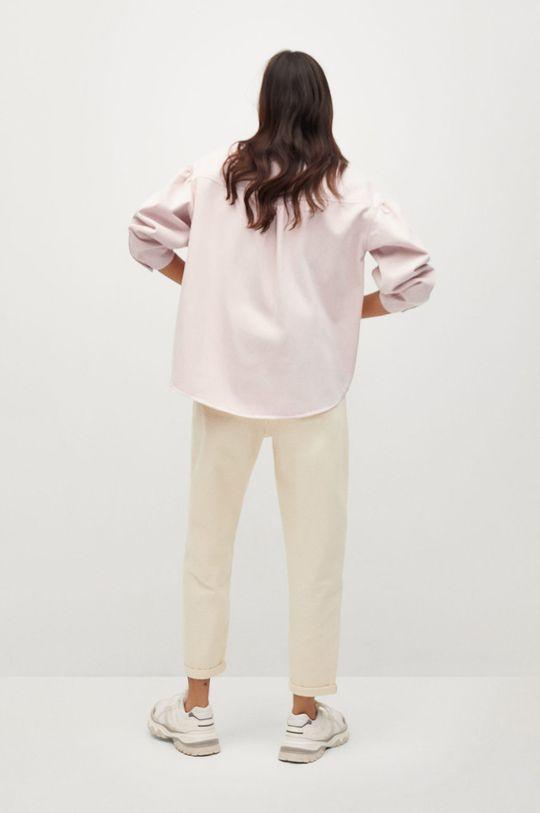 różowy Mango - Koszula jeansowa Caramel