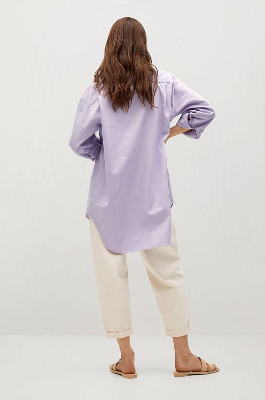 Mango - Bavlněné tričko Tana  Hlavní materiál: 100% Bavlna Provedení: 20% Bavlna, 80% Polyester