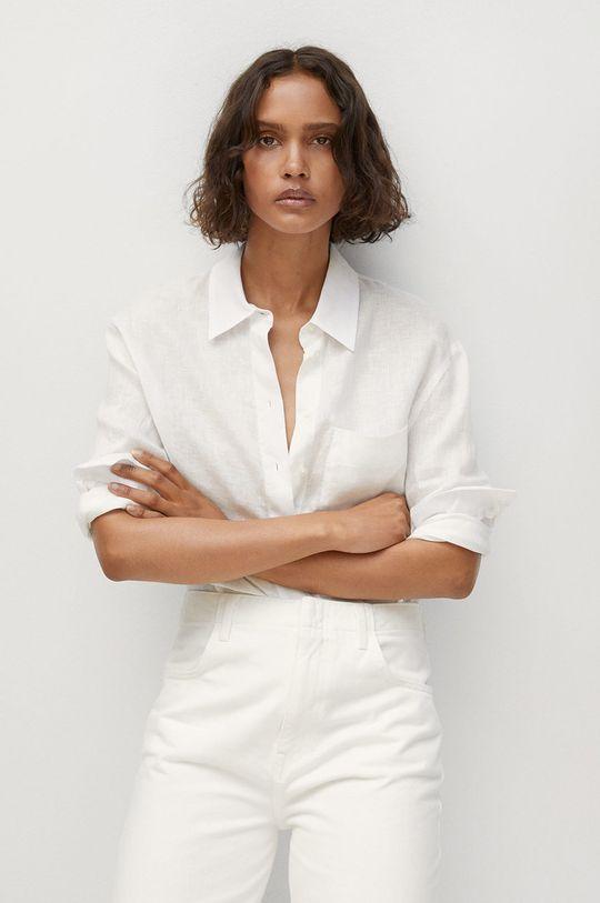 biela Mango - Košeľa Lino Dámsky
