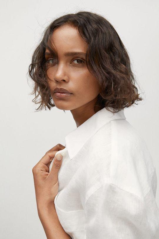 biela Mango - Košeľa Lino