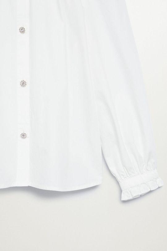Mango Kids - Koszula dziecięca NIL biały