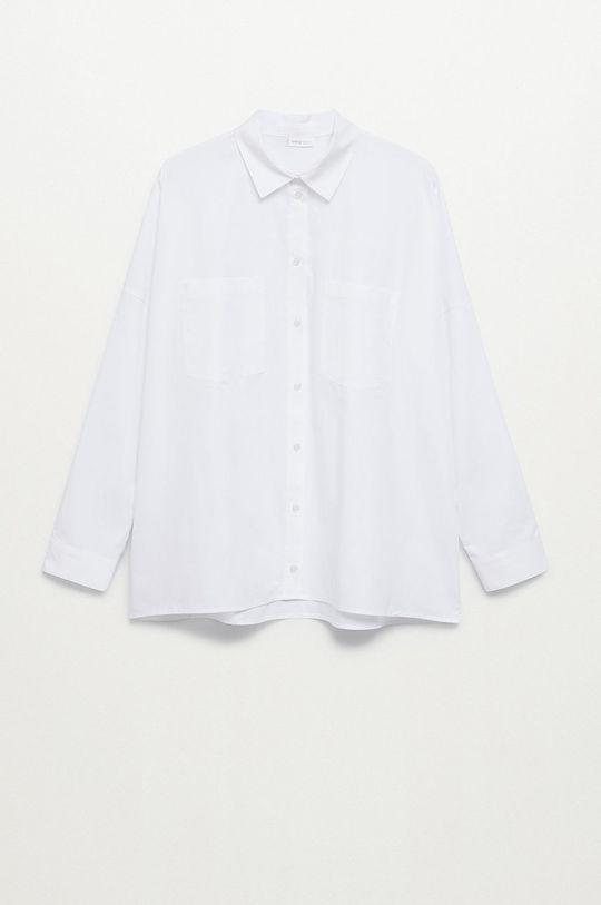 biały Mango Kids - Koszula bawełniana dziecięca Cami