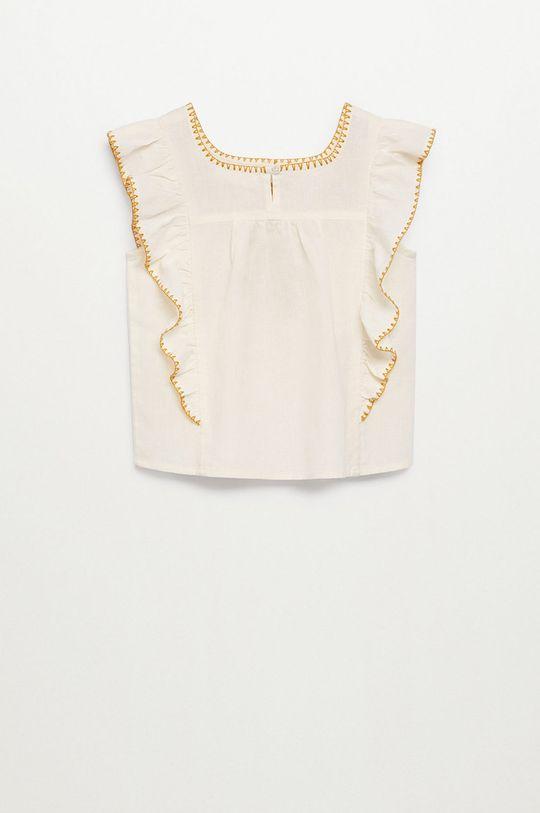 biały Mango Kids - Bluzka dziecięca Mexican 110-164 cm