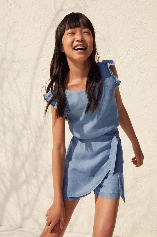 fioletowy Mango Kids - Bluzka dziecięca Mia 110-164 cm Dziewczęcy