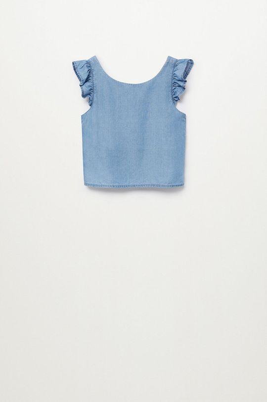 Mango Kids - Bluzka dziecięca Mia 110-164 cm fioletowy