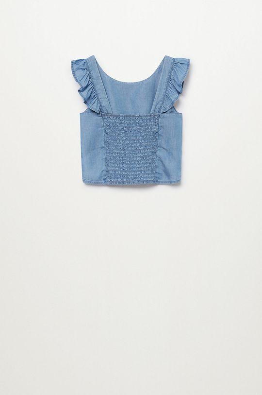 Mango Kids - Bluzka dziecięca Mia 110-164 cm 100 % Lyocell