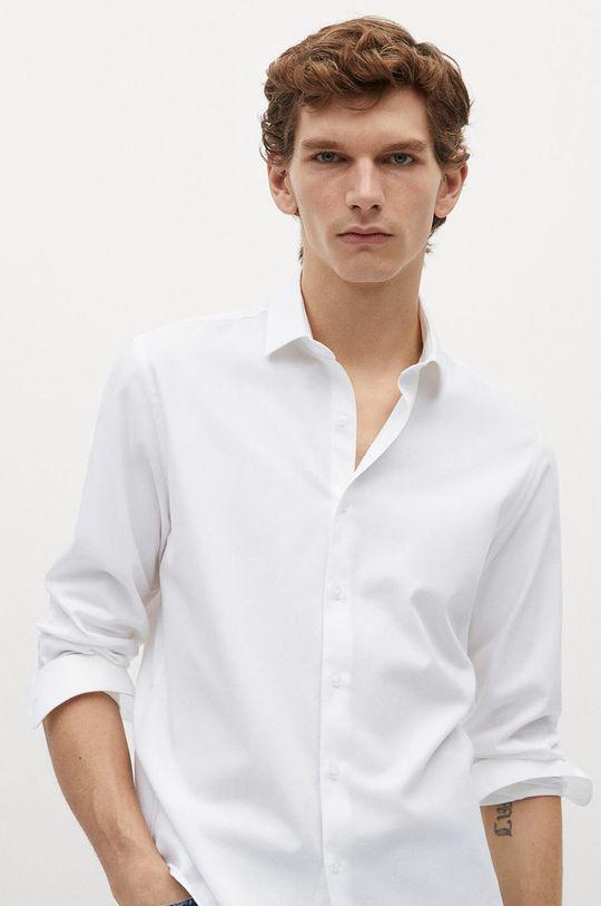 bílá Mango Man - Košile ALFRED Pánský
