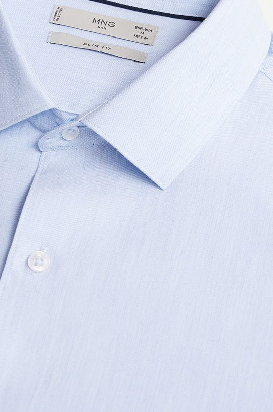 Mango Man - Koszula ALFRED blady niebieski