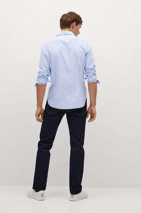 blady niebieski Mango Man - Koszula ALFRED