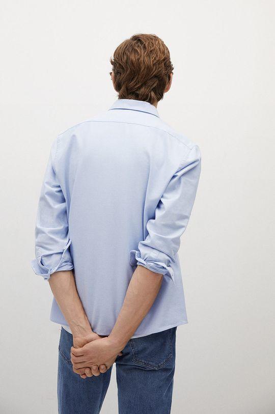 albastru pal Mango Man - Camasa OXFORD
