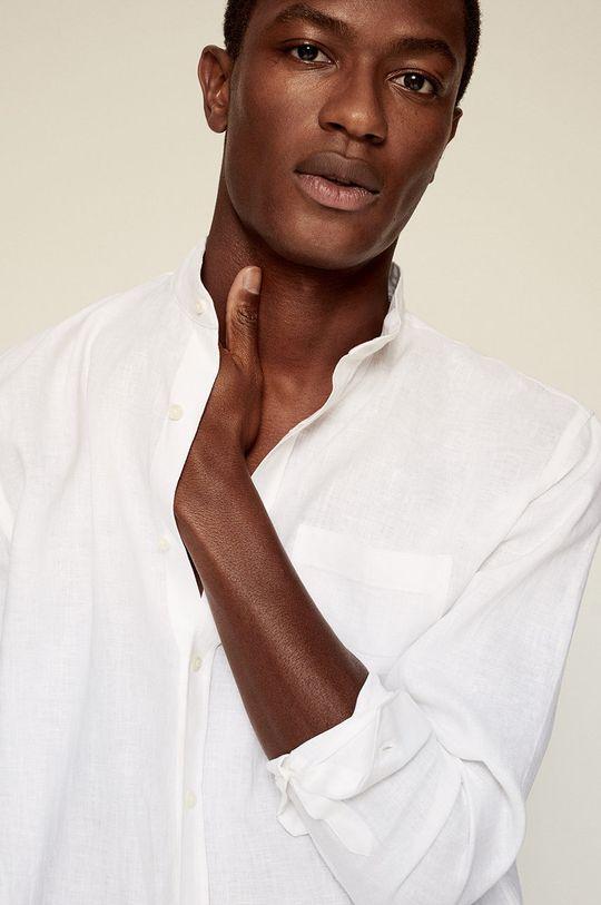 biały Mango Man - Koszula Chennai-I Męski