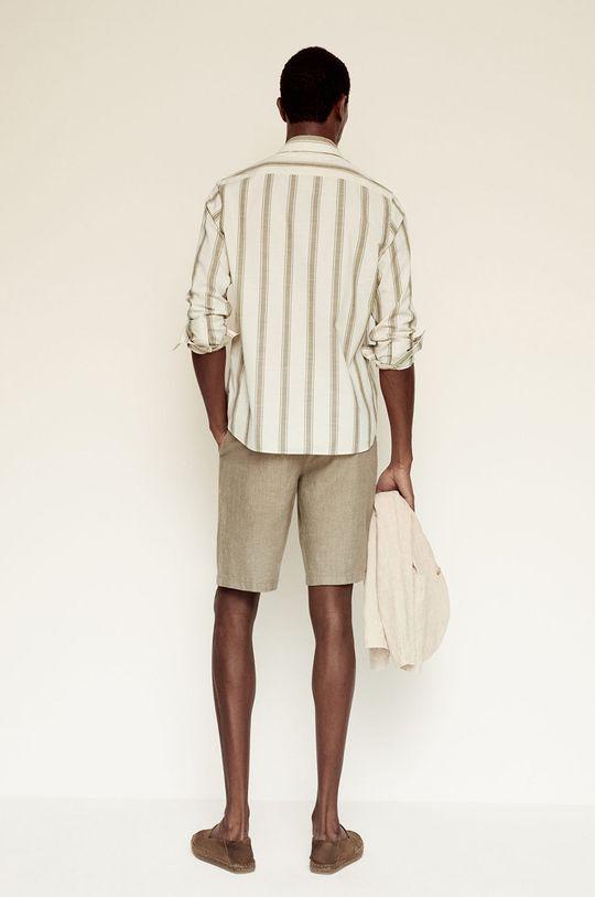Mango Man - Koszula bawełniana Riley 100 % Bawełna