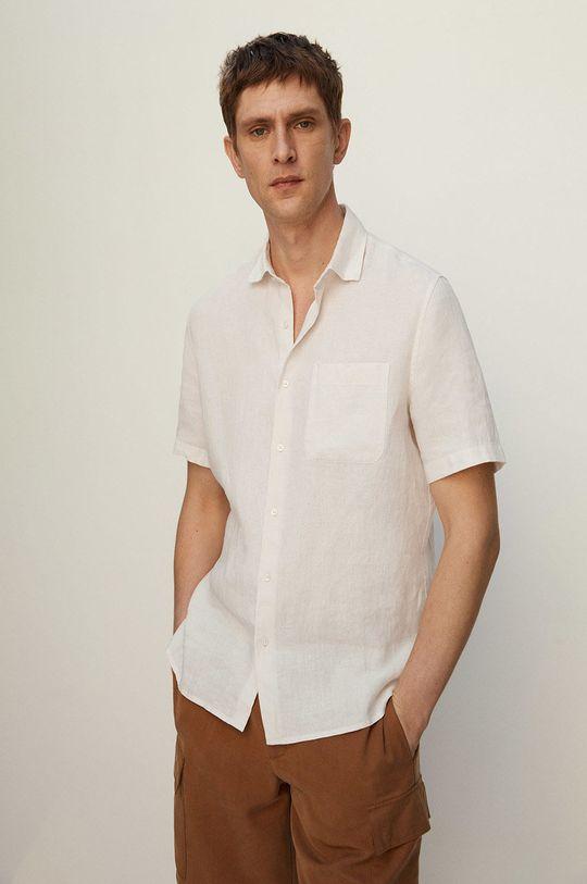 biały Mango Man - Koszula ANTS Męski