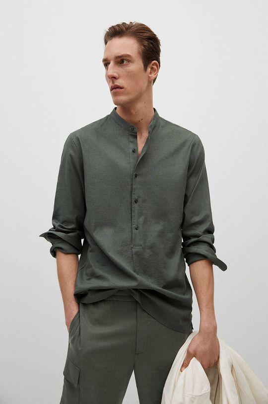 zlatohnědá Mango Man - Košile BOLAR Pánský