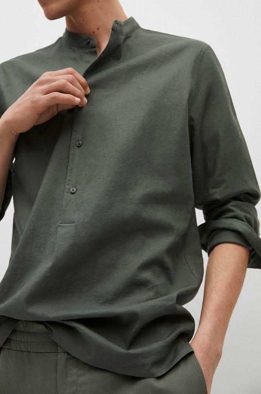 zlatohnědá Mango Man - Košile BOLAR