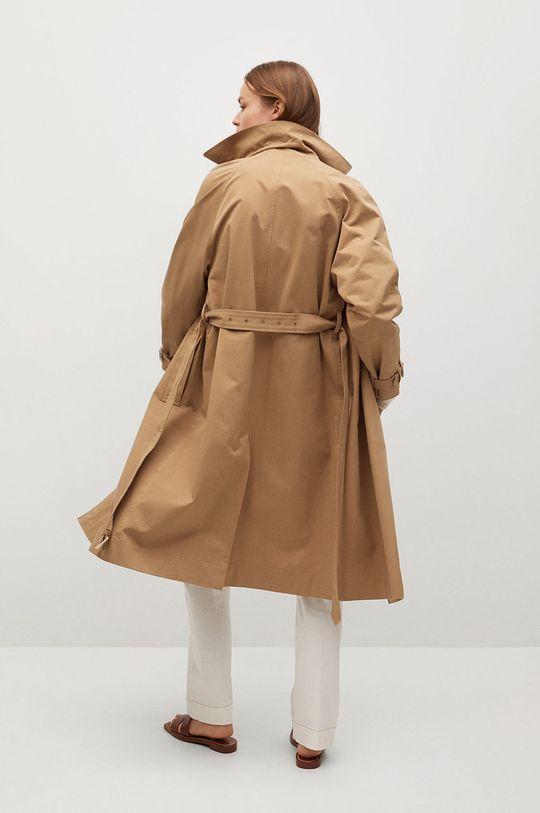 Mango - Trench kabát Formiga  Podšívka: 100% Polyester Hlavní materiál: 100% Bavlna
