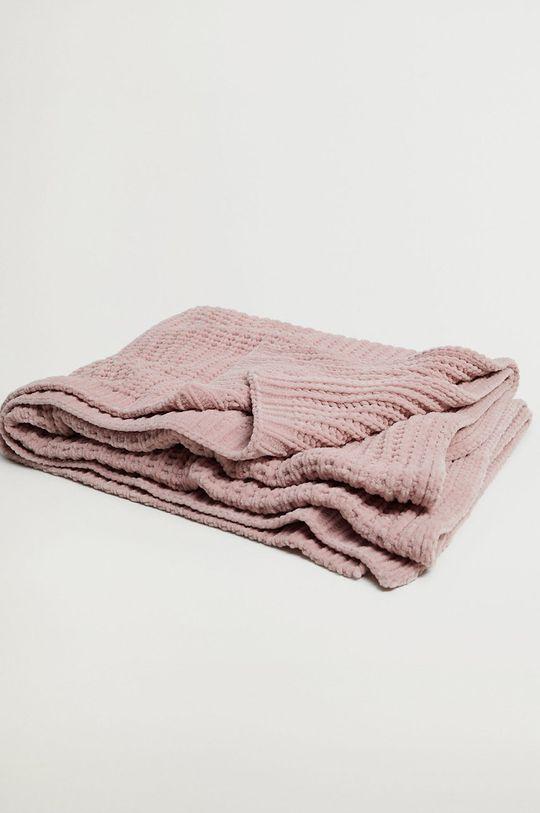 Mango Kids - Detská deka BLANCA ružová