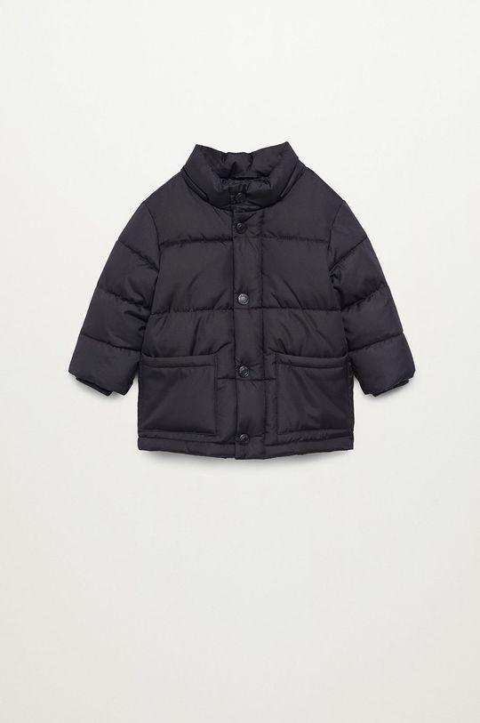 Mango Kids - Detská bunda LUCA  Podšívka: 100% Polyester Výplň: 100% Polyester Základná látka: 100% Polyester Kožušina: 65% Akryl, 17% Modacryl, 18% Polyester