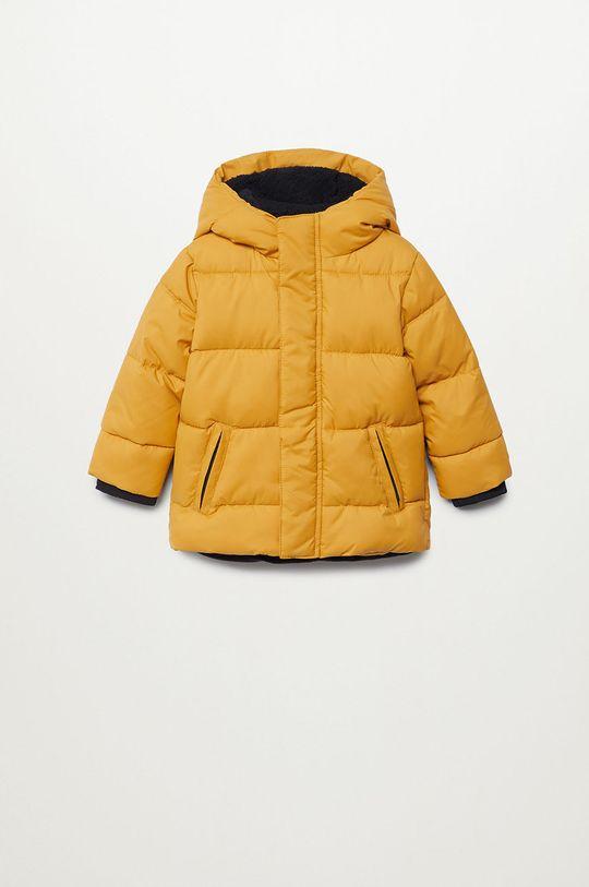 žltá Mango Kids - Detská bunda BROOKLYN Chlapčenský