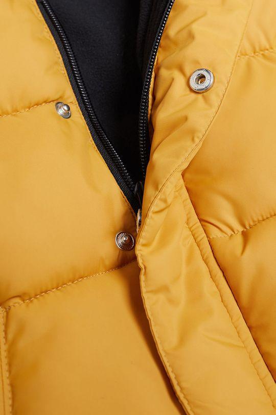 Mango Kids - Detská bunda BROOKLYN žltá
