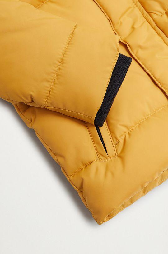 Mango Kids - Detská bunda BROOKLYN  Podšívka: 100% Polyester Výplň: 100% Recyklovaný polyester Základná látka: 100% Polyester Podšívka kapucne : 100% Polyester Podšívka rukáva: 100% Polyester