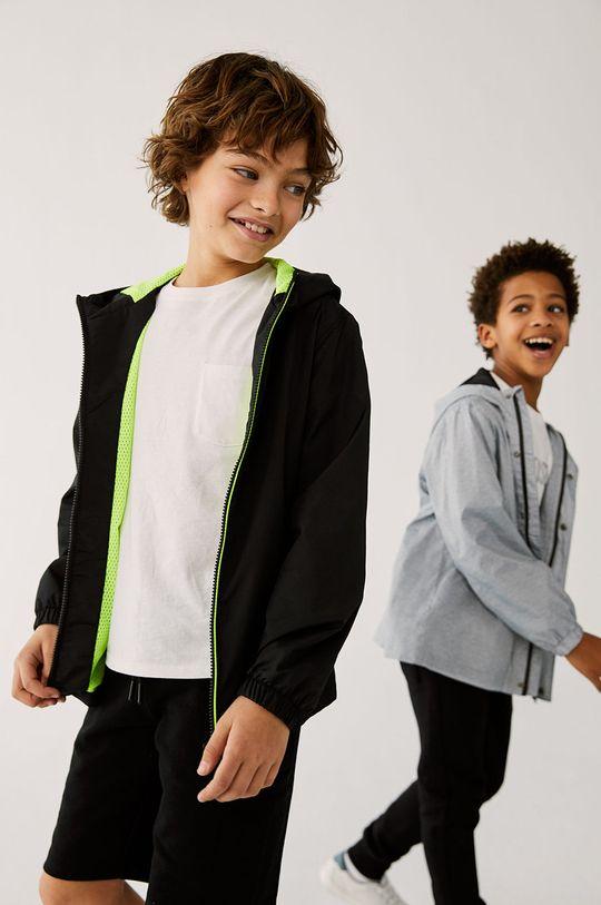 czarny Mango Kids - Kurtka dziecięca CHICAGO Chłopięcy