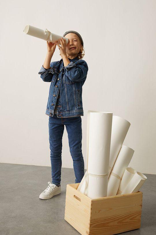 Mango Kids - Dětská bunda JOHN  100% Bavlna