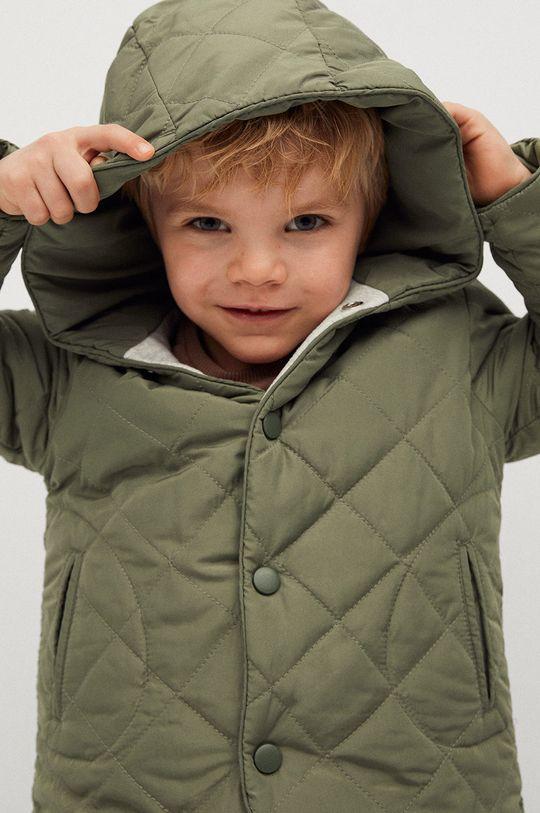 Mango Kids - Dětská bunda SAMY zlatohnědá