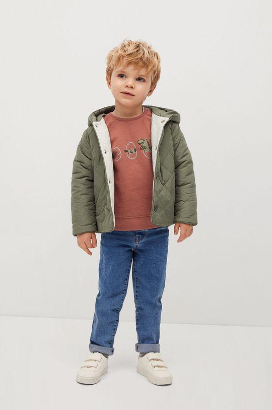 Mango Kids - Dětská bunda SAMY  Výplň: 100% Recyklovaný polyester Hlavní materiál: 100% Polyester Podšívka rukávů: 100% Polyester