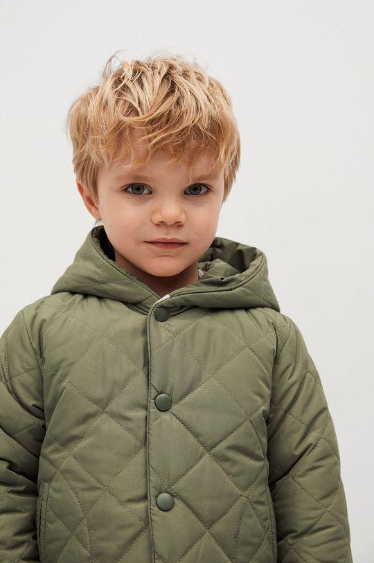 zlatohnědá Mango Kids - Dětská bunda SAMY