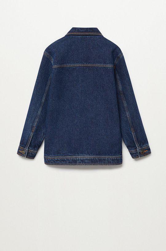 Mango Kids - Kurtka jeansowa dziecięca Paul 110-164 cm Chłopięcy