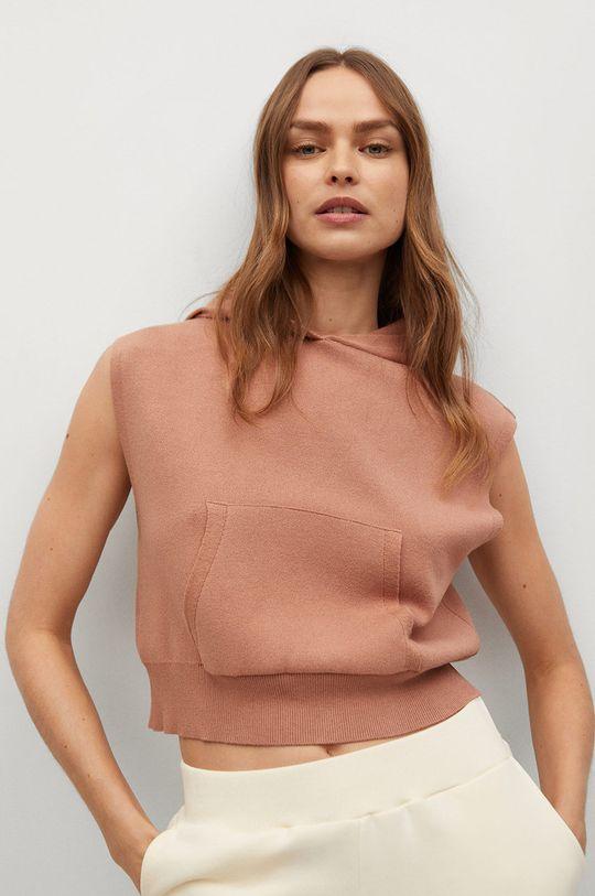 pastelowy różowy Mango - Bluza Vitoria Damski