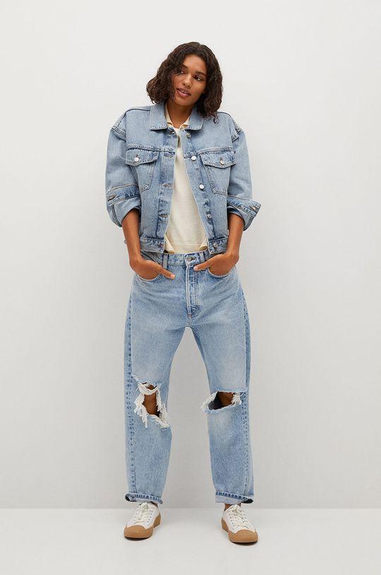 Mango - Kurtka jeansowa RACHEL niebieski