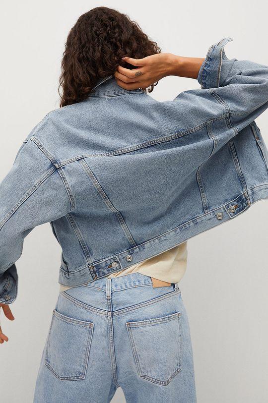 Mango - Kurtka jeansowa RACHEL 100 % Bawełna