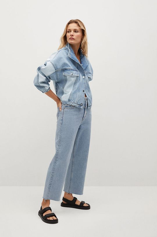 Mango - Džínová bunda CINDY modrá