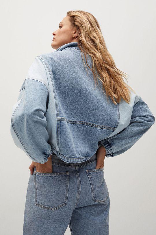 Mango - Džínová bunda CINDY  100% Bavlna
