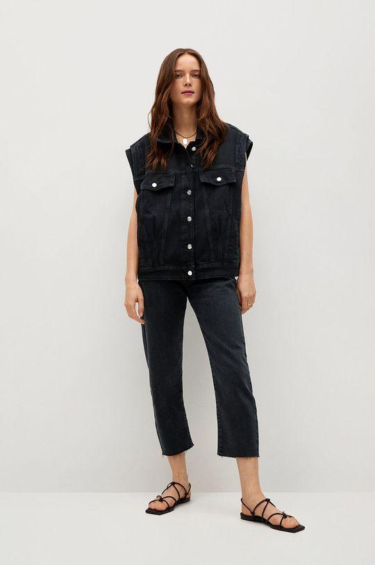 Mango - Kamizelka jeansowa ANGY szary