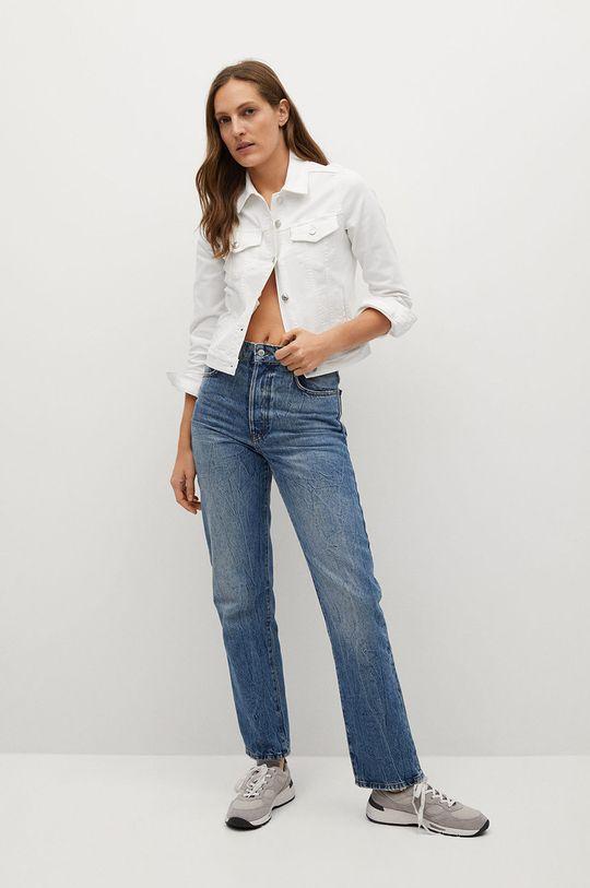 Mango - Kurtka jeansowa Vicky biały