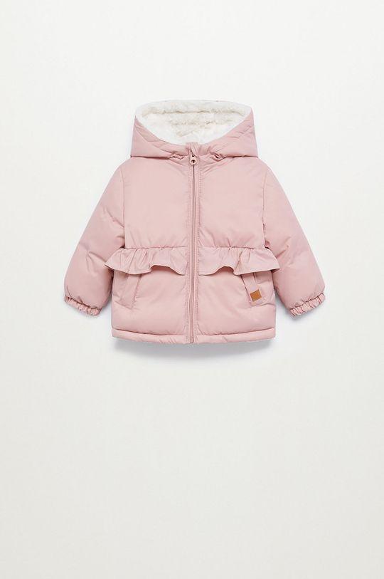 ružová Mango Kids - Detská bunda JUNE7 Dievčenský