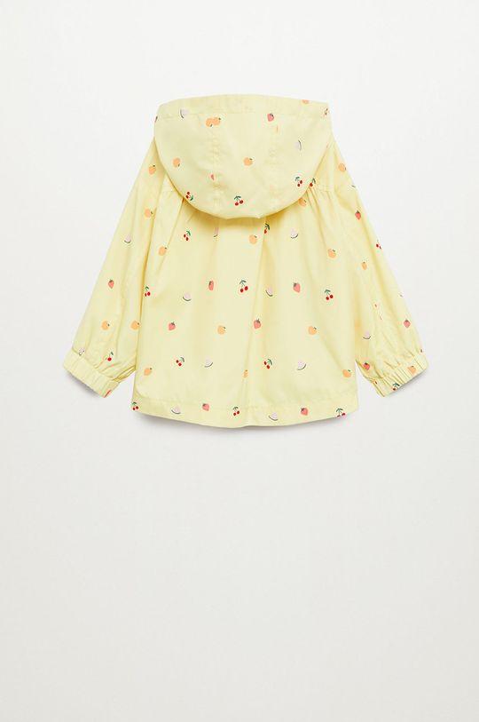 Mango Kids - Kurtka dziecięca RAIN8 żółty