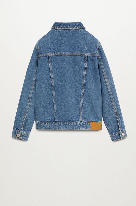 Mango Kids - Kurtka jeansowa dziecięca Norma 110-164 cm Dziewczęcy