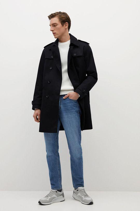 Mango Man - Trench kabát TANGO černá