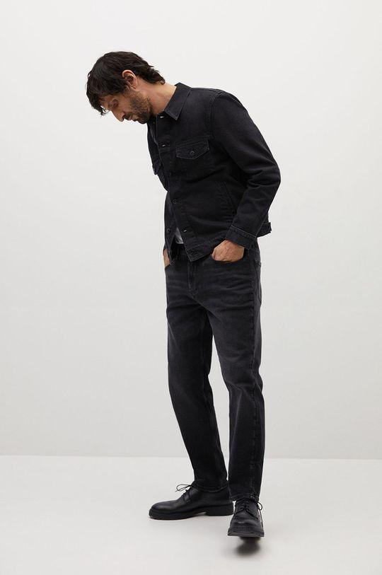 Mango Man - Kurtka jeansowa RYAN szary