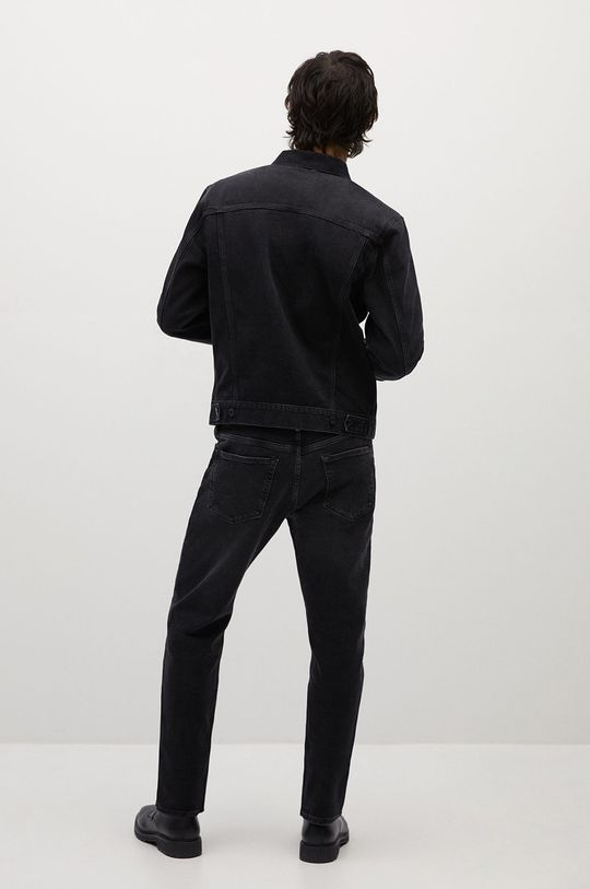 Mango Man - Kurtka jeansowa RYAN 100 % Bawełna