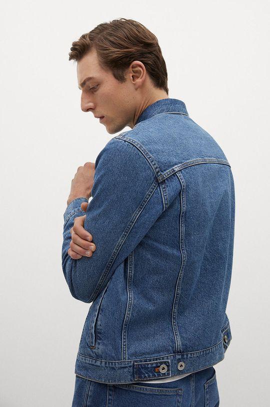 niebieski Mango Man - Kurtka jeansowa RYAN